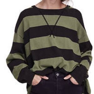 Free People Surfin on your Stripes Sweater